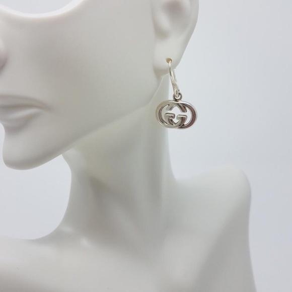 baa87ee30 Gucci Jewelry | Womens Sterling Silver Gg Drop Earrings | Poshmark
